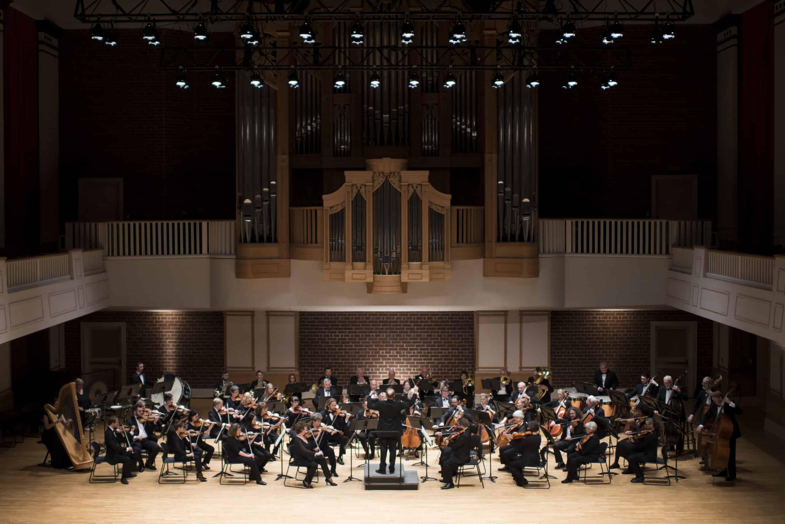 Photo of Brevard Philharmonic in the Porter Center, Kaelee Denise Photography